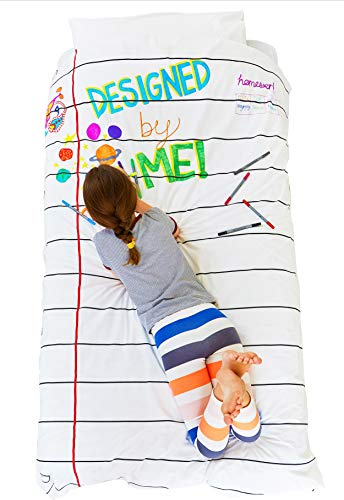Doodle Bettdecke: Einzel