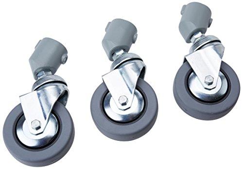 Manfrotto 10980mm Lenkrolle ohne Bremse für alle 22mm Bein Durchmesser-Set von 3 Autopole Base