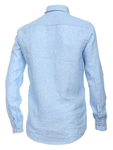 CASAMODA Herren Businesshemd 441925000 Casual Fit bügelleicht Hellblau