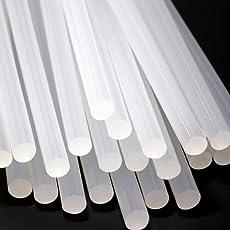 Popaji Hot Melt Multi Purpose Crafts Glue Sticks : 11mm x 225mm Suitable for 40W, 60W, 80W, 100W Glue Guns - Pack of 40