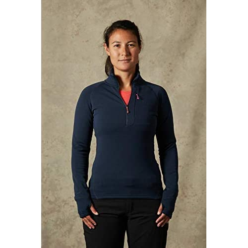 41vWHVmzcjL. SS500  - Rab Women's Power Stretch Pro Pull-On (Deep Ink)