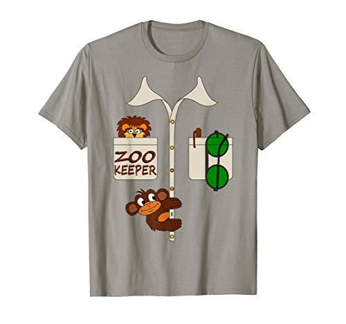 Karneval Kostüm Zoowärter - Zoowärter Tierpfleger Kostüm Verkleidung Tier Wächter