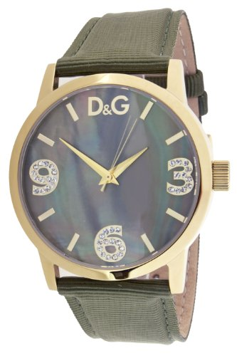 Dolce   Gabbana D G Dolce Gabbana - Reloj analógico de cuarzo para mujer  con correa de piel c45b3a786e64