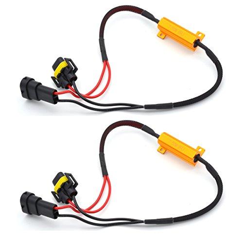 katur 250W 8Ohm-90069005Lastwiderstand Anschluss Auto LED Blinker Leuchtmittel Nebelscheinwerfer Tagfahrlicht Fehlerfrei cancellor Kondensator Decoder Draht (Gebläsemotor Kondensator)