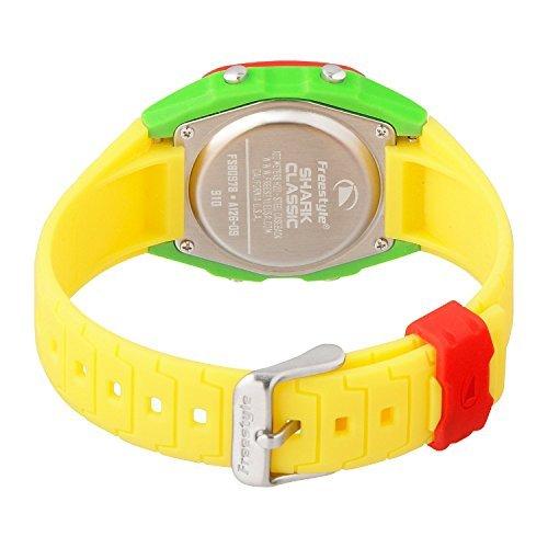 Freestyle di ricambio per orologio da polso con squalo, colore: giallo