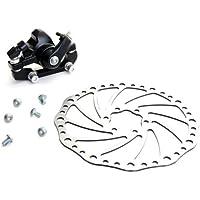 Sonline DBK-04 Freno Trasero de Disco Mecanico Metal Color Negro para Bicicleta MTB