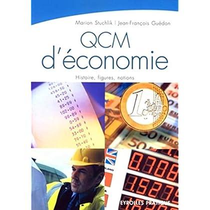 QCM d'économie: Histoire, figures, notions