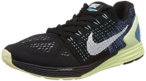 Nike Men's Lunarglide 7 Black Running Shoes -7.5 UK/India (42 EU)(8.5 US)  available at amazon for Rs.4278