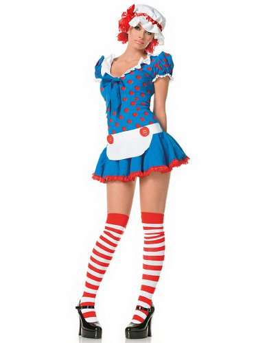 Leg Avenue 83202 - Rag Doll Kostüm Set, -