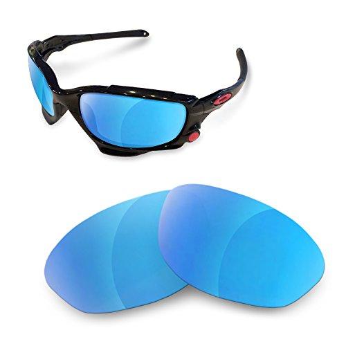 sunglasses restorer Ersatzgläser für Oakley Jawbone (Polarized Ice Blue Gläser)