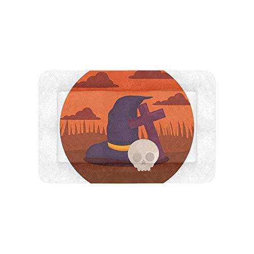 Hexenhut Design Halloween Extra Große Individuell Bedruckte Bettwäsche Weiche Hundebett Couch Für Welpen Und Katzen Möbel Matte Höhlenauflage Kissenbezug Innen Geschenk Lieferanten 36 X 23 Zoll