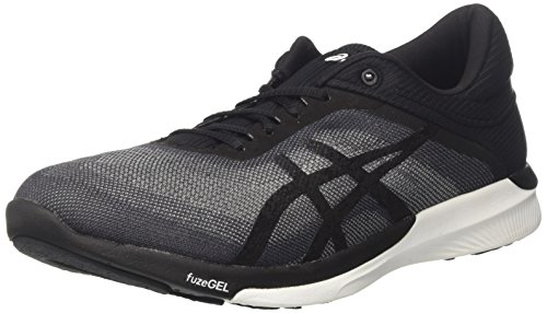 Asics T768N9690, Zapatillas de Running para Mujer, Gris (Midgrey/Black/White), 39.5 EU