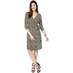 Avirate V Neck WRAP ON Dress