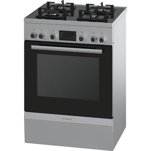 Bosch Serie 6 HGD747355F Autonome Cuisinière à gaz A Acier inoxydable four et cuisinière - fours et cuisinières (Autonome, Acier inoxydable, Rotatif, Devant, 1,2 m, CE)