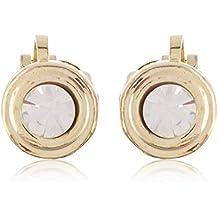 FirstBlush® Non Pierced Clip-On Earrings for Non Piercing Ears for Women/Girls (CLI-M811-840-GL)