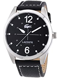 Lacoste Herren-Armbanduhr XL Analog Quarz Leder 2010695