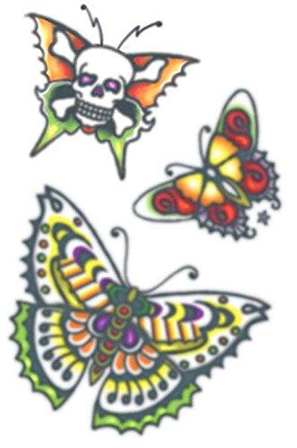 Schmetterling Aufklebe Tattoo
