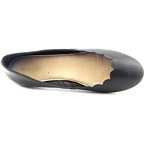 Wanted Kristy Synthétique Chaussure Plate Black
