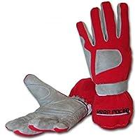 keep-racing® Handschuhe GRIP, für Kart- & Motorsport, rot, Größe L (10)