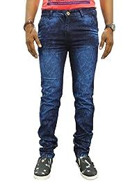 JUGEND Blue Stretchable Slim fit Jeans for Men