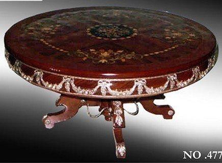 Table ronde Baroque Rococo Louis XV MoTa0477 #