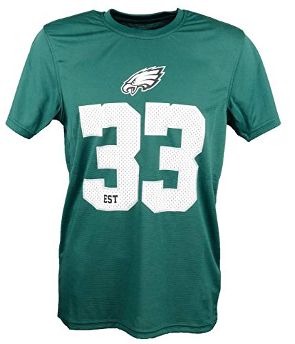 New Era Philadelphia Eagles New Era T Shirt NFL Team Supporters Tee Green - XXL -