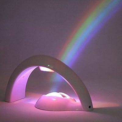 Magische Regenbogen-Projektor -Licht - Projekte einen großen schönen Regenbogen von JINTO® auf Lampenhans.de