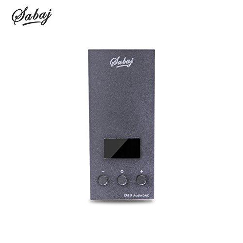 Sabaj DA3-Verstärker für Kopfhörer, Grau -