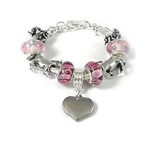 Charmed Jewellery Bracelet à breloques de style Pandora Cheval