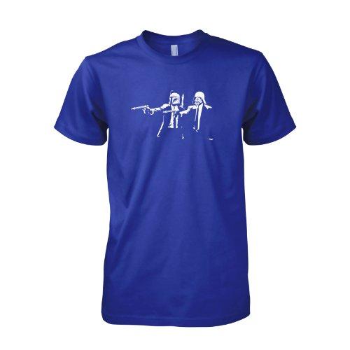 Texlab - Boba Vader Fiction - Herren T-Shirt Marine