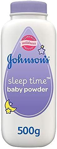 JOHNSON'S, Powder, Sleep Time Powder,