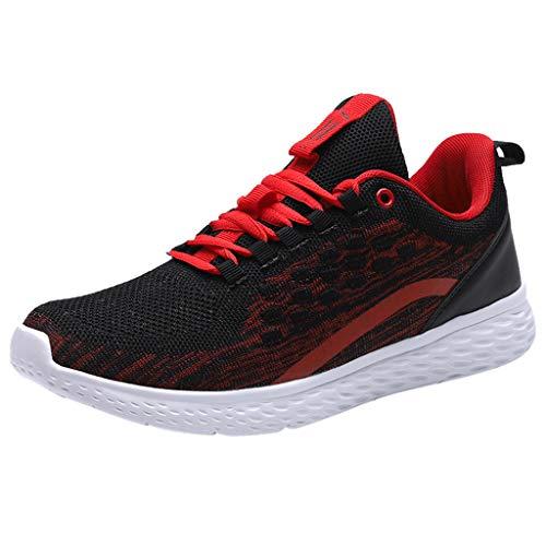 Stretch-große Loch-fischnetz-strumpfhose (SuperSU Sneaker ►▷Herren Mode Sommer Atmungsaktive Leichte hohles Spleiß Anti Slip Mesh Turnschuhe,Männer Outdoorschuhe Sportschuhe Laufschuhe Gym Wanderschuhe Freizeitschuhe)