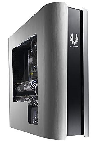 BitFenix Pandora Fenster–Computer Fällen (Mini-Tower, PC, Aluminium, Kunststoff, Stahl, Micro-ATX, Mini-ITX, schwarz, (Minitower Pc)