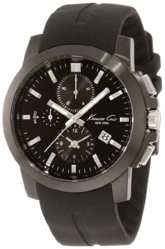 Armbanduhr XL Dress Sport Chronograph Silikon KC1844 ()