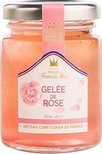 Gelee de Rose, Rosengelee mit Rosenblättern aus Frankreich, 100g