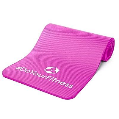 Fitnessmatte ideal für Pilates, Gymnastik, Heimsport und Yoga ab 0,8cm Dicke bis ca. 2cm / Maße 183x61 bzw 190x100 / In vielen Farben erhältlich ( navyblau schwarz grün pink türkis grau lila ). Perfekt für empfindliche Personen - sehr weich - auch zum Bal