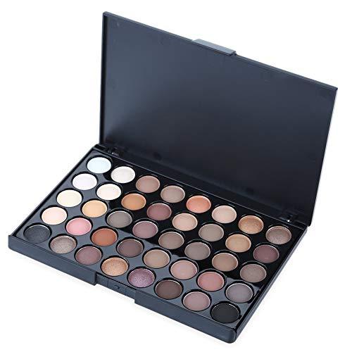 Cosmétique Portable 40 Couleurs Mat Palette Ombre À Paupières Femmes Maquillage Ombre À Paupières - Couleur Terre (# 1)