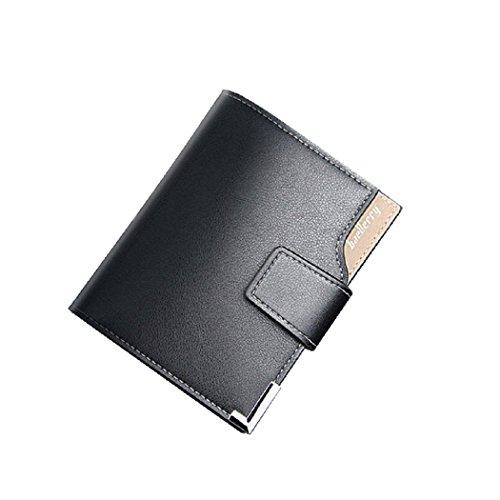 Italienische Reise-geldbörse (Baellerry Leder Herren Geldbörse Geldbeutel Portmonee Portemonnaie Brieftasche klassisches Design multifunktionell All in One - auch ideal als Geschenk -)