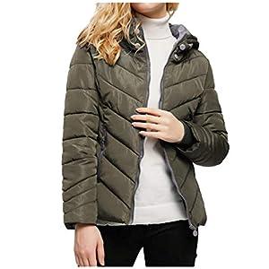Toasye Mode Frauen Winter ReißVerschluss Dicken LangäRmeligen Kurzen Mantel Aus Baumwolle Mit Kapuze Verdickt Langarm Kurzkappe Baumwollmantel