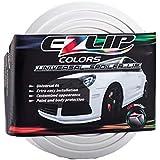 EZ de Lip Colors Blanco original universal Tuning frontal Alerón Labio, color blanco
