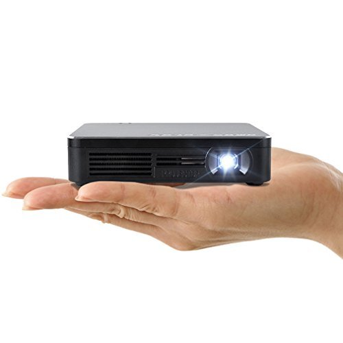 Amaz-Play Mobile Pico Projector WIFI DLP Portable Mini Pocket Size Multimedia Video LED Gaming Projectors with 120