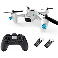 CreaTion® Hubsan X4 Mini H107C + 4 canali 2.4GHz RC Quadcopter con 720p HD Camera, 6-Axis del giunto cardanico e trasmettitore(2 pezzi batterie supplementari) - Camera Pezzi