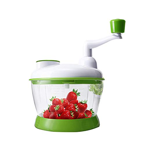 Xiaohu GE Salatschleuder, Multifunktions-Mainstay-Set, einfache Verwendung, Gemüse, Obst, Schleuder, Salatschneider