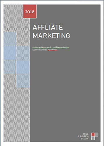 Affliate Marketing (English Edition)