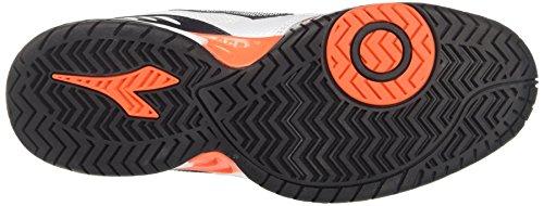Diadora S.Performance AG, Chaussures de Tennis Homme Blanc Cassé (Bianco Ottico Smoke)