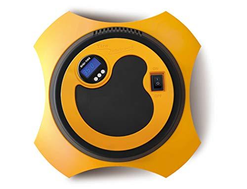 Unbekannt Tragbare Luftkompressorpumpe, Auto-Digital-Reifenfüller-Anzeige, 12V 150 PSI-Reifenpumpe mit LED-Licht