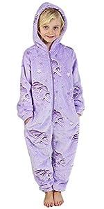 Pijama Unicornio Niña Onesie Pijamas