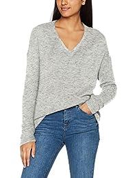 VERO MODA Damen Pullover Vmlinber Ls V-Neck Wave Blouse Lcs