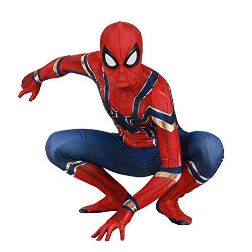 Womens Klassischen Anzug (RNGNBKLS Erwachsene Kinder Klassische Eisen Spiderman Kostüm Halloween Cosplay Karneval Spiderman Anzug 3D Print Spandex Verkleidung,Women-S)