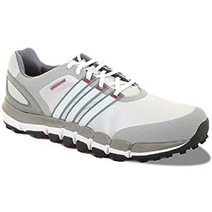 2014 Adidas Pure 360 Gripmore Sport Waterproof Golf Shoes Light Onix/White 11UK